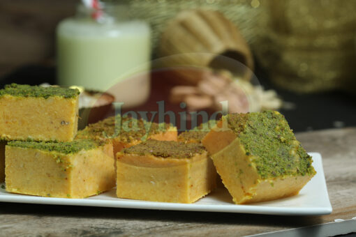 Only Jayhind Sweets Make Best Badam Barfi In All Over World, We Deliver Badam Barfi All Over The World. Buy Now On jayhindsweets.com