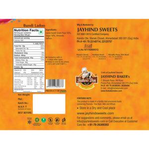Bundi Laddu (Export Packing) – Jayhind Sweets – Famous