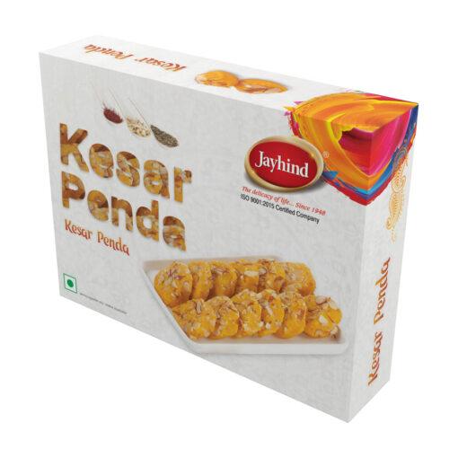Only Jayhind Sweets Make Best Kesar Peda In All Over World, We Deliver Kesar Peda All Over The World. Buy Now On jayhindsweets.com