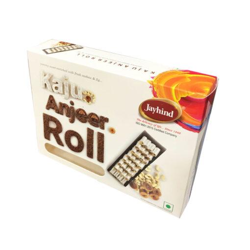 Only Jayhind Sweets Make Best Kaju Anjeer Roll In All Over World, We Deliver Kaju Anjeer Roll All Over The World. Buy Now On jayhindsweets.com