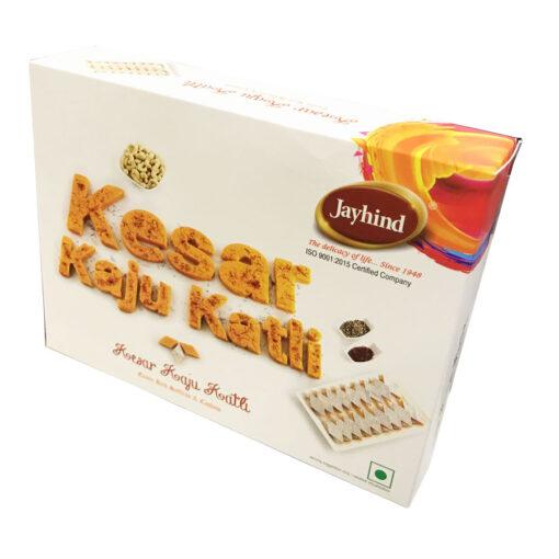 Only Jayhind Sweets Make Best Kesar Kaju Katli In All Over World, We Deliver Kesar Kaju Katli All Over The World. Buy Now On jayhindsweets.com